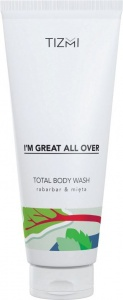 Tizmi - Total Body Gel Rabarbar&Mięta200ml