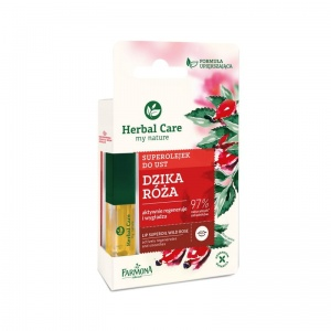 Herbal Care Dzika Róża superolejek do ust 5ml