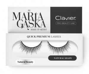 Quick Premium Lashes rzęsy na pasku Natural Beauty 827