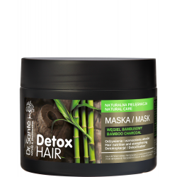 Dr Sante Detox Hair - Mask Hair nutrition and strenghtening, Detoxification 300ml