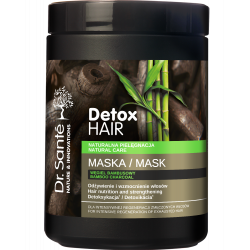 Dr Sante Detox Hair - Mask Hair nutrition and strenghtening, Detoxification 1000ml