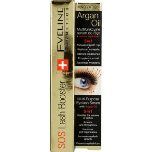 Sos Lash Booster With Argan Oil 5in1 serum do rzęs 10ml