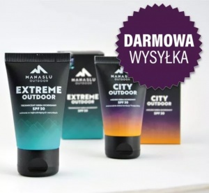 Zestaw - Krem ochronny City Outdoor  40 ml + Krem ochronny  Extreme Outdoor  40 ml