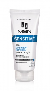 Men Sensitive Moisturizing Intimate Hygiene Gel żel do higieny intymnej 200ml