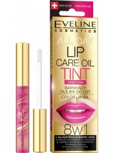 Lip Care Oil Tint 8w1 barwiący olejek do ust Sweet Pink 7ml