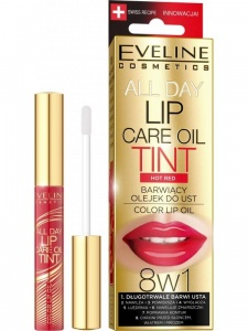 Lip Care Oil Tint 8w1 barwiący olejek do ust Hot Red 7ml